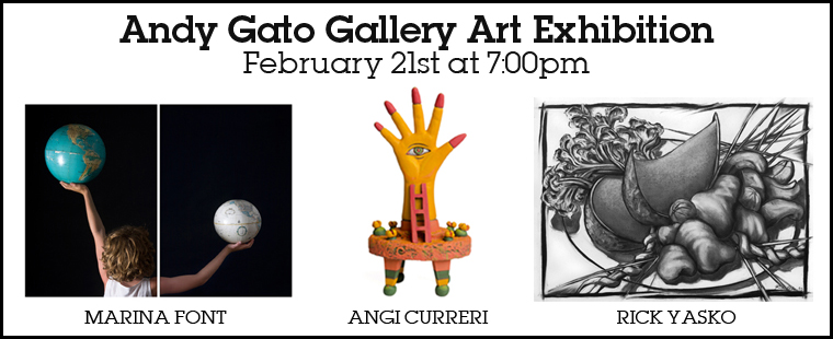Andy Gato Gallery Art Exhibition