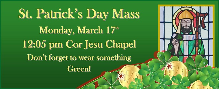 Mass for the Feast of St. Patrick