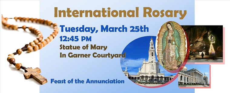 International Rosary for the Feast of the Annunciation