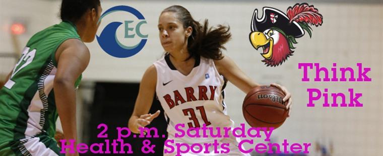 Pink Out: Women's Basketball Hosts Eckerd