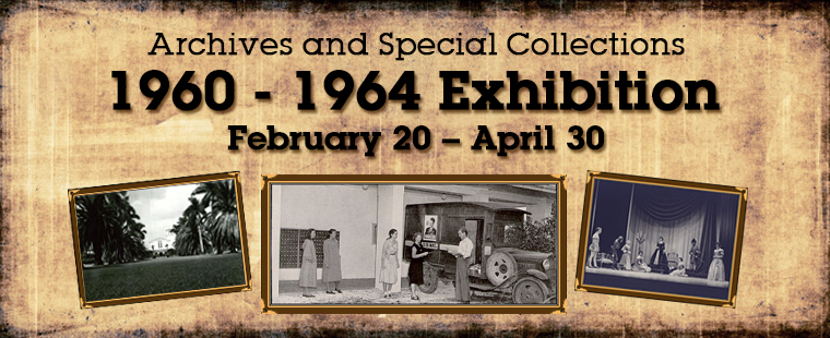 Archives & Special Collections Exhibition