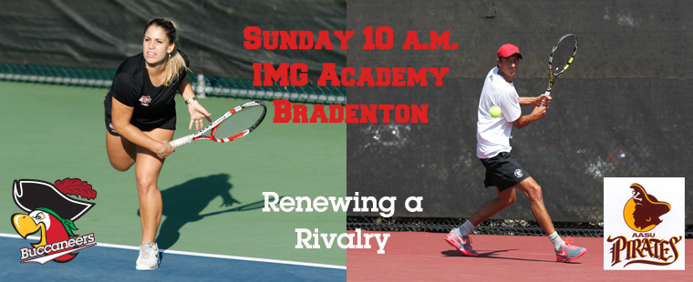 Tennis Takes on Rival Armstrong Sunday at IMG