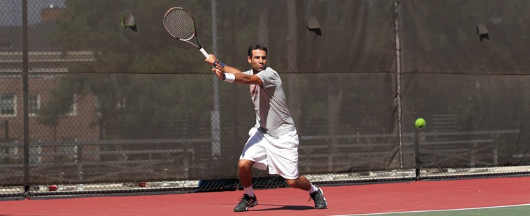 Triki Earns Second SSC Men's Tennis Player of Week Award