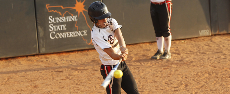 Softball Splits With Sailfish