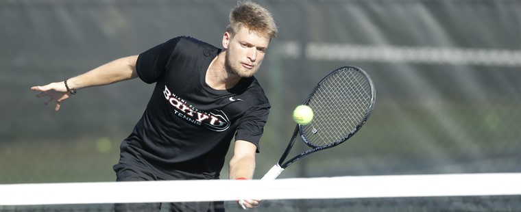 No. 1 Men's Tennis Downs No. 21 Georgia Regents