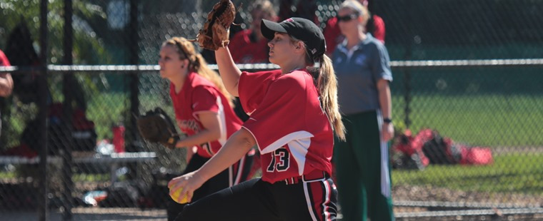 Softball Sweeps Twinbill From The Mocs