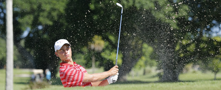 Men's Golf Tied for Lead at St. Edward's Invitational