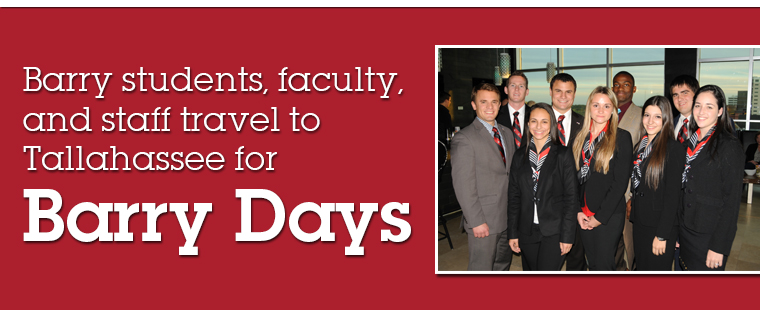 Barry students, faculty, and staff head to Tallahassee for Barry Days