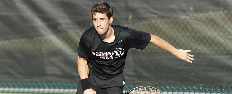 Men's Tennis Squeaks by Azusa Pacific