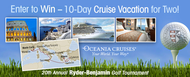 Enter to Win a 10-Day Luxury Cruise & Support Scholarships