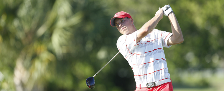 Men's Golf Shares Lead with Lynn at Southeastern Collegiate