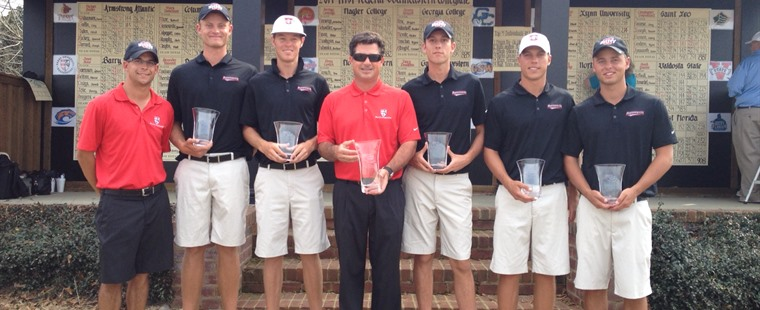 Men's Golf Wins Southeastern Collegiate
