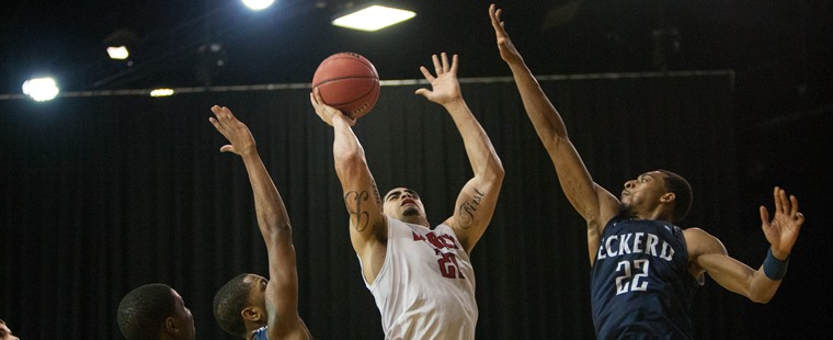 Men's Basketball: Barrueta Named Second-Team All-South Region