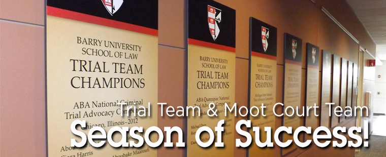 Trial Team & Moot Court Team: Season of Success