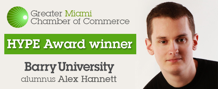 Barry alumnus named Greater Miami Chamber of Commerce HYPE Award winner