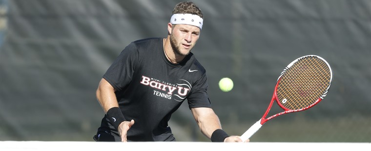 No. 2 Men's Tennis Finishes Off No. 20 Rollins