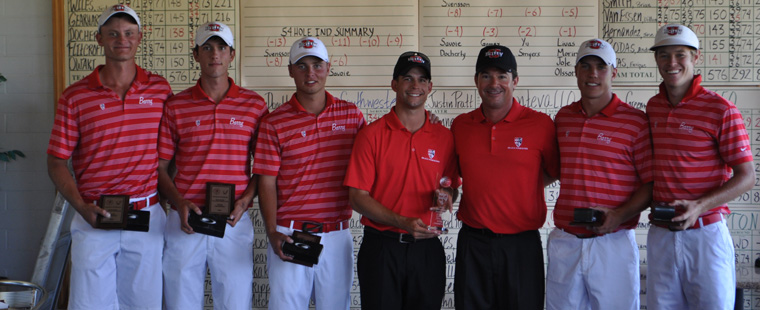 Men's Golf Crowned Buccaneer Invitational Champs