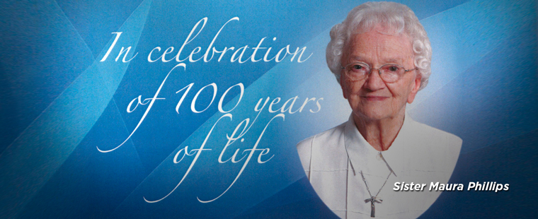 Sister Maura Scholarship: In Celebration of 100 Years of Life