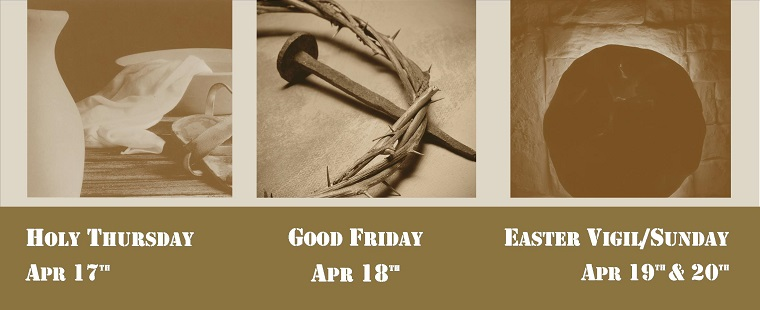 Holy Week Triduum Celebration