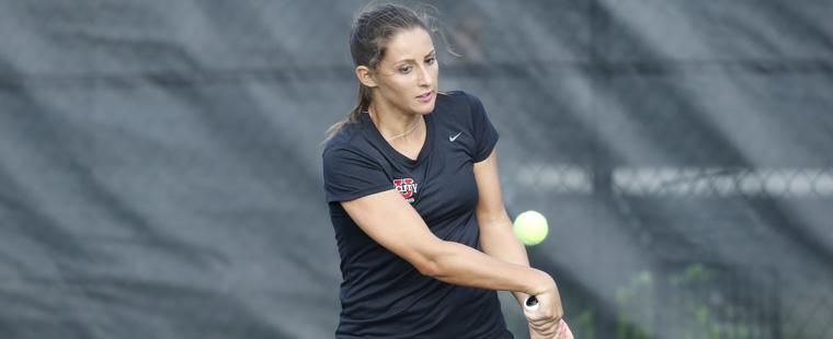 Women's Tennis Plays at Lynn for SSC Championship Saturday