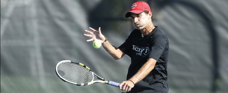 No. 2 Men's Tennis Hosts No. 8 Lynn for SSC Title Sunday