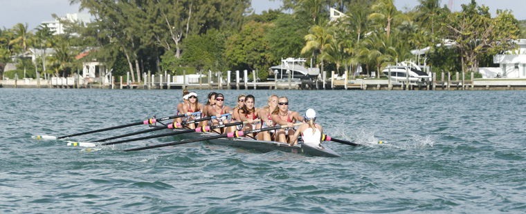 Rowing: Varsity 8 Wins 1st Event at San Diego Crew Classic