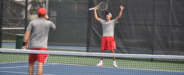 Men's Tennis Crowned SSC Regular Season Champs