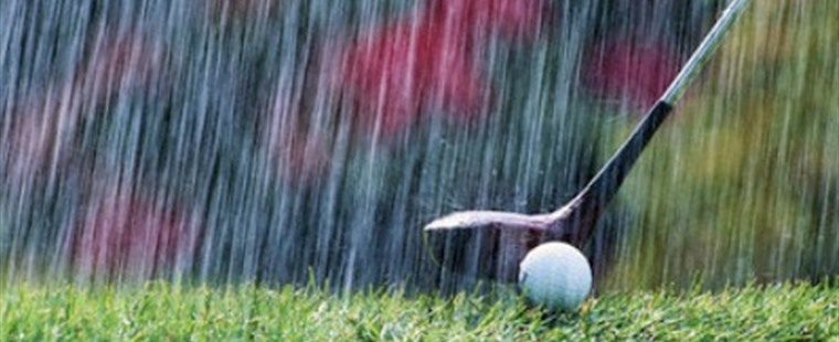 Women's Golf Tournament Washed Out Monday
