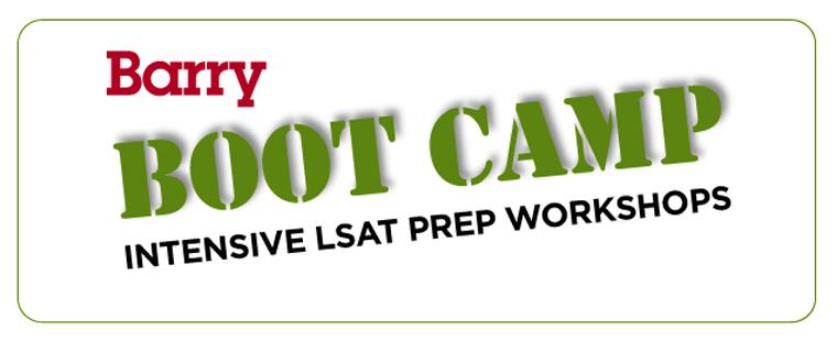 """""""Barry Boot Camp"""" LSAT Prep Starts November 1"""