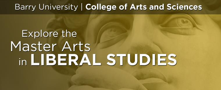 Barry University's Master of Arts in Liberal Studies Information Session