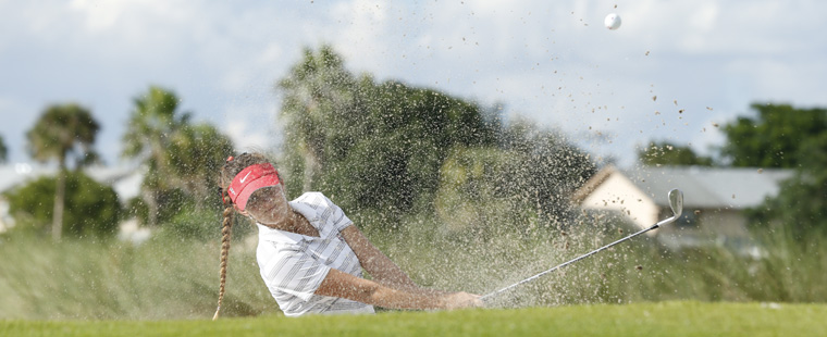 Women's Golf Moves Up One Spot at SSC Championships