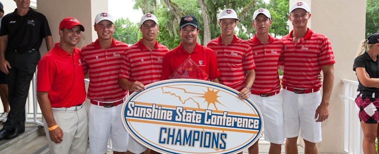 Men's Golf Repeats as SSC Champions