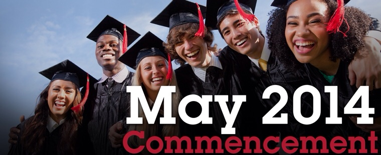 Spring 2014 Commencement Dates & Activities