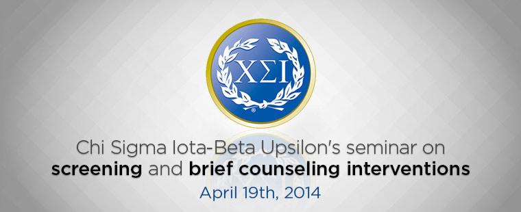 Chi Sigma Iota - Beta Upsilon's Bi-Annual Sunshine Seminar