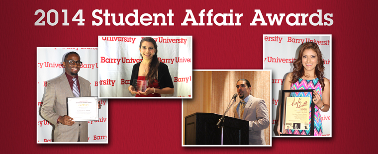 Division of Student Affairs recognizes student leaders