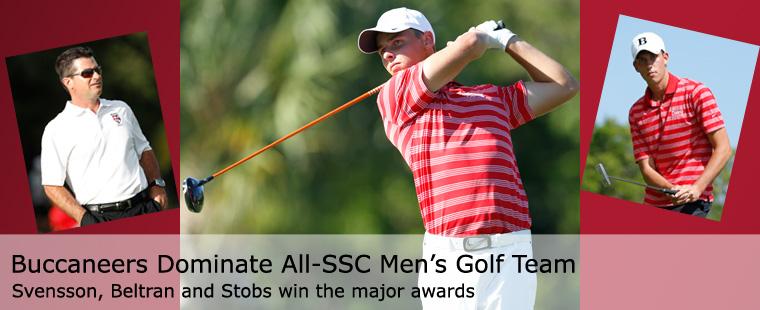 Buccaneers Dominate All-SSC Men's Golf Team