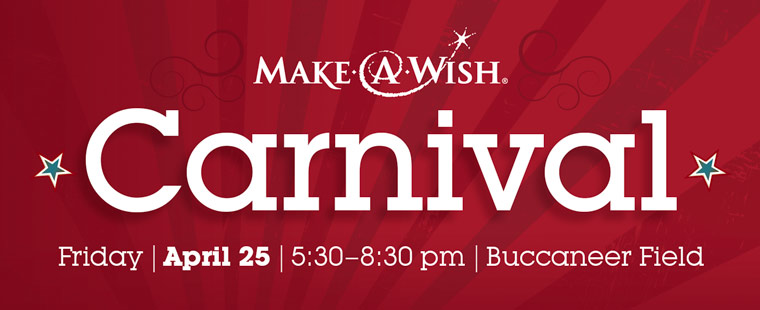 Buccaneers Host Make-A-Wish Carnival On Friday