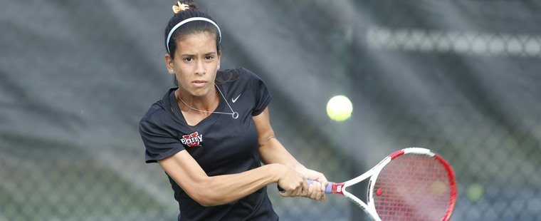 Women's Tennis Rolls Over Panthers In SSC Tournament