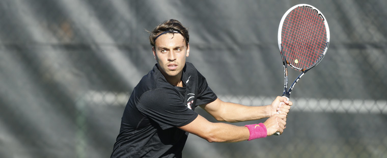 Men's Tennis Sweeps Saint Leo in SSC semifinals