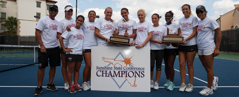 Women's Tennis Wins Record 5th Straight SSC Tourney