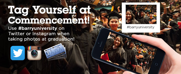 Be a part of the Social Map with #barryuniversity
