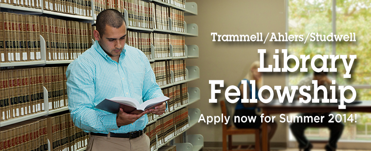 Summer Library Fellowship Opportunity at Barry Law!