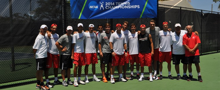Men's Tennis Fends Off Lynn, Wins NCAA Regional