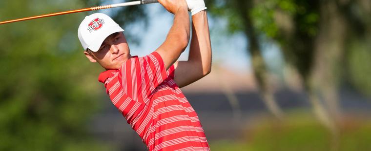 Men's Golf 2nd After 2 Rounds of Super Regional