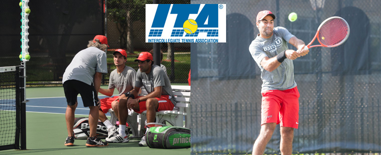 Men's Tennis: Triki, Bonal Collect ITA South Region Honors
