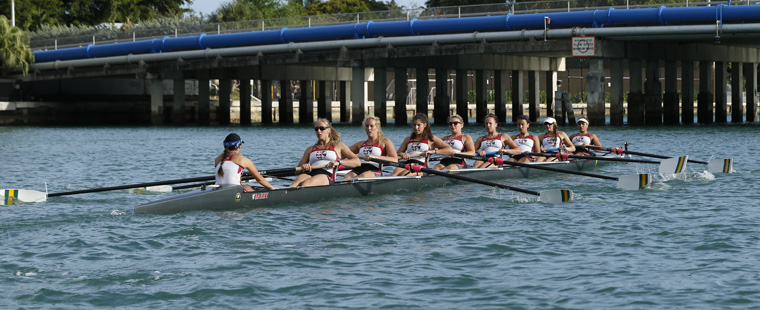 Rowing: Bucs 8 takes second in Dad Vail Heat