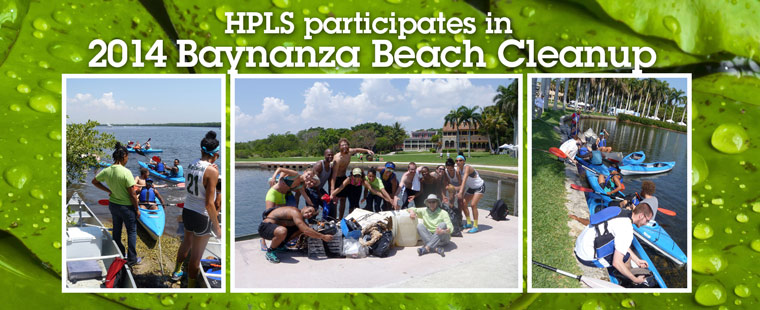 HPLS faculty and students hit the beach for annual coastline cleanup