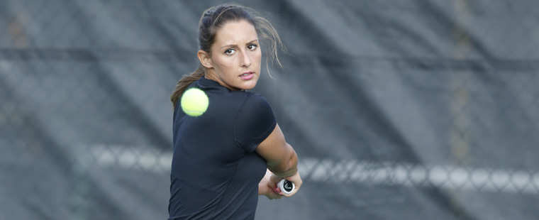 Women's Tennis: Goia Earns Academic All-District Honors