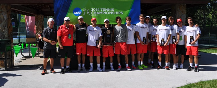 Men's Tennis Season Ends in NCAA Semifinals