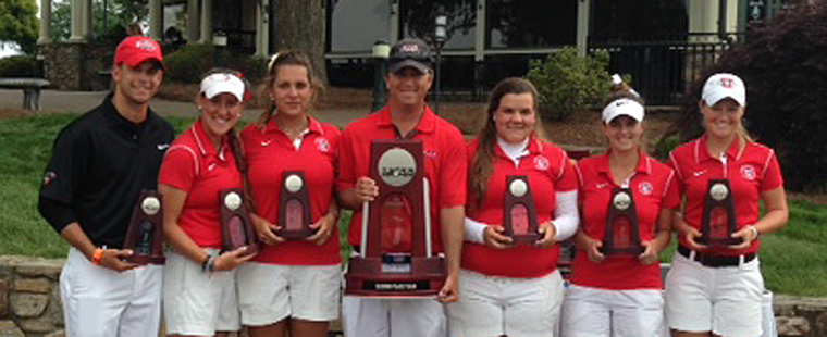 Women's Golf Ties Program-Best Finish At Championship
